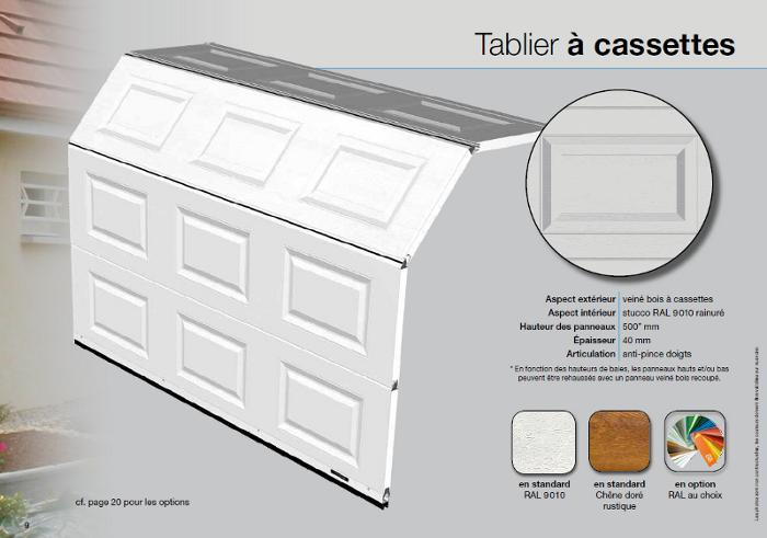 mod les de porte de garage sectionnelle la toulousaine. Black Bedroom Furniture Sets. Home Design Ideas